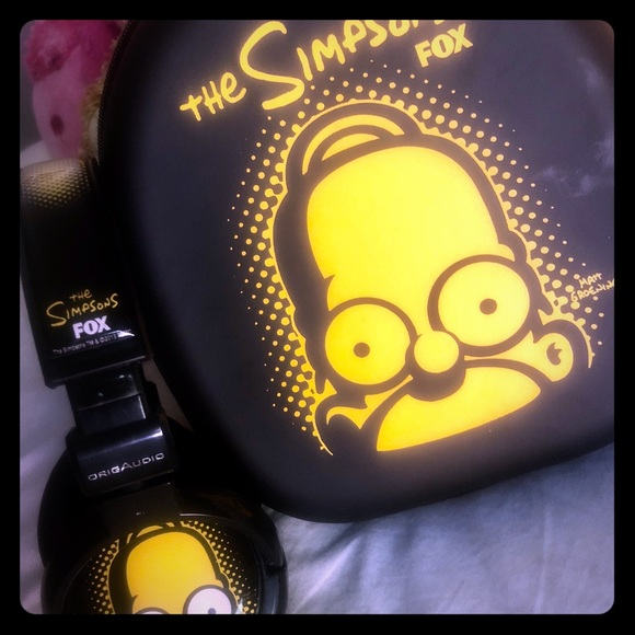 Incredible New Simpsons Headphones Beutiful Home Inspiration Ommitmahrainfo